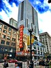 My Kind Of Town (melissa_bourgeois) Tags: alwayshaveyourcamera brightred streetphotography chicagotheater chicago