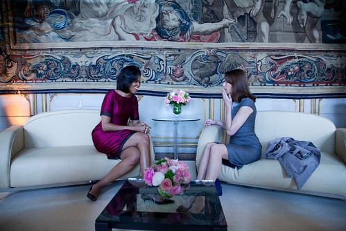 First Lady Michelle Obama, the style icon