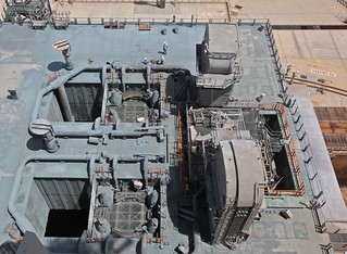 The Shuttle Flame Trenches From Above