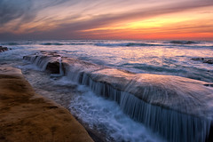 On of my Favorite Spots (mojo2u) Tags: california sunset sandiego lajolla twlight nikon2470mm nikond700 drapervillas