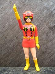 Electro-Wave Human Tackle (The Moog Image Dump) Tags: japan japanese rainbow wave human ladybird ladybug electro rider tackle stronger kaiju kamen tokusatsu sofubi