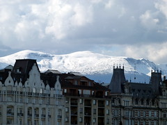 View in Geneva, Switzerland (ZeeTee91) Tags: snow mountains switzerland geneva