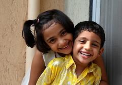 Nanda & Sachu (Sarthak Nair) Tags: india playing kids canon children mark ii 5d 28 mumbai 2470