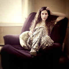 Day One Hundred and Forty-Five (XeniaJoy) Tags: selfportrait girl self hair square army military camo 365 deployment brownhair 365days armywife