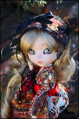 Pullip Full Custo - Princess Asami 2 (Megoulette_) Tags: red fairytale princess lace royal blond groove kimono pullip latte asami leeke obitsu junplanning fullcusto