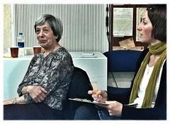 Dt.-israelische Jugendbegegnung: ein sehr spannendes Zeitzeugin-Gespräch mit Margot Berlin gehabt (wurde in Köln geboren, war 20 als der Krieg vorbei war & berichtete beeindruckend von ihren Stationen vor, während & nach dem Krieg).