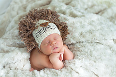 Ferocious Innocence (jrobblee) Tags: boy portrait baby hat children soft child innocent 100mm newborn babyboy babyphotography thepinnaclehof kanchenjungachallengewinner tphofweek153