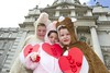 Pictured at the launch the Irish Heart Foundation's 23rd annual happy heart appeal sponsored by Lidl Ireland which starts tomorrow (10 May) Photo:Leon Farrell/Photocall Ireland.
