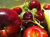 Fruits فواكه (Abdullah Rashed - KWT ( excuse 4 slow replies)) Tags: apple colors fruits fruit plate grapes kuwait rashed abdullah تفاح عنب ألوان فاكهة فواكه كوجة