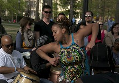 (Caitlin H. Faw) Tags: park portrait people woman usa man motion reed digital circle easter washingtondc dc washington dance movement nikon nw dress arms dancing drum hill sunday watching april drumming 16thstreet spectators meridian 2012 columbiaheights 15thstreet meridianhillpark wstreet d90 euclidstreet caitlinfaw caitlinfawphotography