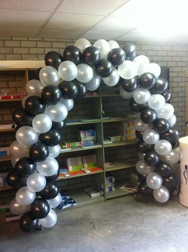 Ballonboog 5m Zwart, Wit Edudelta Barendrecht