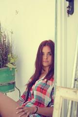 Raquel Carrillo (Diego Villalba) Tags: espaa girl canon chica andalucia patio guapa cdiz beautifull 60d