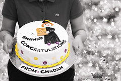 "Graduation !!!! (Queen333"" ) Tags: summer holiday cake canon eos mark 5 graduation ii 5d success               ghadah"