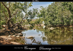 Coonagan River (a777thunder (Thanks for your support)) Tags: reflections australia outback westernaustralia marblebar coonaganriver