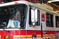 FDNY Ladder 110 (Triborough) Tags: nyc newyorkcity ny newyork brooklyn 110 firetruck ladder fdny seagrave downtownbrooklyn laddertruck kingscounty newyorkcityfiredepartment ladder110