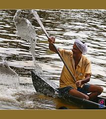HERO OF THE DAY !!! (g sivaprasad) Tags: old man boat freezing oldage kottayam kumarakom vallamkali