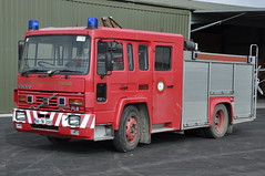 Birr Airfield 1988 Volvo FL6/14 Fulton & Wylie WrL 88TN2093 (Shane Casey CK25) Tags: blue ex lights volvo north 1988 service fulton flashing emergency tipperary airfield wylie birr resuce wrl fl614 88tn2093
