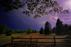 """Lightning""   My front yard  5/15/2012 (Michigan Nut) Tags: sky usa storm tree photography michigan thunderstorm lightning lightningbolt johnmccormick boltoflightning nightphotograhy michigannutphotography nikon1635mmf4gedafsvrwideanglezoomlens"