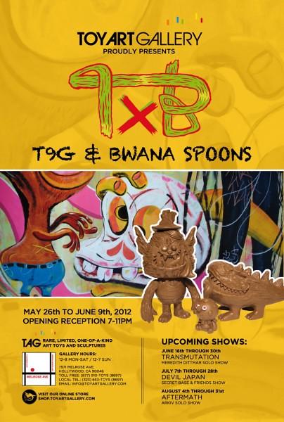 "T9G & Bwana Spoons ""TxB"""
