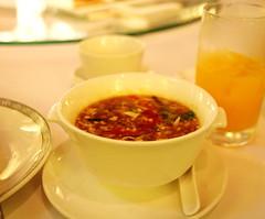 Soup of tafu and mushroom (Phc Tho) Tags: travel hongkong asia conference hitho dulch langthang chu