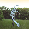 Tornado (Kyle.Thompson) Tags: boy portrait white guy field grass forest self out arms air wrapped sheet around 365 cloth tornado