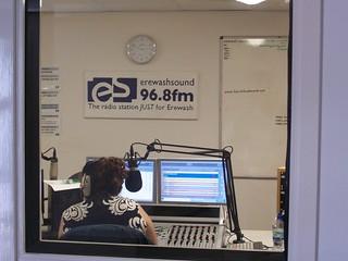 'Community Radio' -  On Air . Erewash Sound - Cotmanhay, Ilkeston , Tuesday May 29th 2012 [ 2.48pm ]