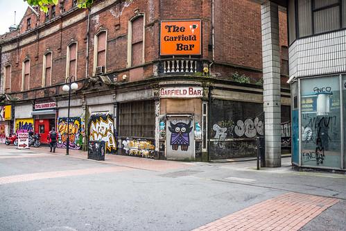 Urban Depression And Expression - The Garfield Bar (Belfast)