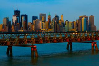 Manhattan Evening Sun