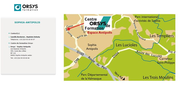 ORSYS Formation_Plan_Sophia Antipolis