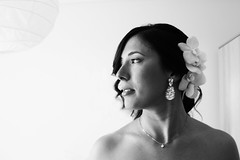 A bride (Ali-smile!) Tags: wedding portrait bw woman bride blackwhite donna friend bn chiara ritratto matrimonio amica sposa