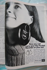 Hip Pocket Records (<Vicky's Flicks>) Tags: fashion vintage 60s retro 1960s magazines sixties seventeen