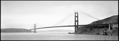 Golden Gate (Summicron20/20) Tags: camera field back nikon inch very kodak w 1975 4x5 f56 nikkor expired kb 617 plusx 6x17 dayi 150mm canham 6x17cm dlc45