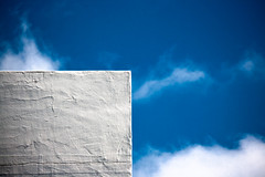 White Cube on blue Sky. (Nino Fiore) Tags:
