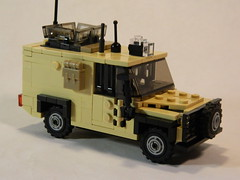 Land Rover Snatch (Patrick_Taylor) Tags: lego military rover land snatch
