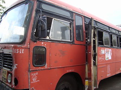 327th bus in 10-11 (Ram @ MSRTC Nagpur) Tags: mahur msrtc