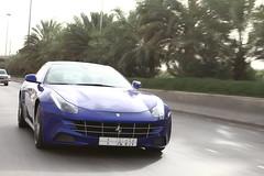 Ferrari FF (Flsimages) Tags: auto camera new old blue car yellow club race photo automobile desert low tan middleeast fast ferrari historic saudi arabia hatch riyadh saudiarabia rare ff ksa photoclub diriyah diryah