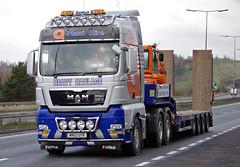 Q Plant Hire of Oldham MAN TGX WN12UYR (andyflyer) Tags: truck lorry oldham haulage roadtransport roadhaulage mantgx qplanthire wn12uyr