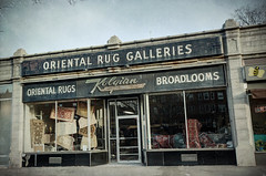 Oriental Rug Galleries (dovetaildw) Tags: nikon neon gallery painted massachusetts storefront signage rug oriental brookline timeless textured bostonist d7000 kolgian
