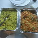 Yamini's Batata Poha and Indian Chaat Chickpea Salad for morning tea