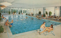 The Waldmere, Shandelee Lake, New York (SwellMap) Tags: sun pool architecture swimming vintage advertising design pc 60s fifties postcard suburbia style motel kitsch retro swimmingpool nostalgia chrome pools swimmer americana 50s roadside poolside googie populuxe sixties babyboomer consumer coldwar midcentury spaceage aquatics atomicage