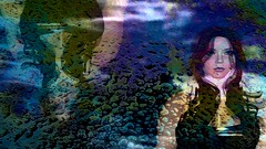 Remind Me (alexandriabrangwin) Tags: world music reflection art computer video 3d slick rainbow graphics underwater image ghost group australian band double secondlife virtual oil tribute cgi triplej remindme littlemay alexandriabrangwin