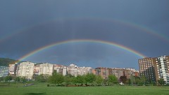 Doble arcoiris (Daniel Ordozgoiti (McDanields)) Tags: arcoiris doblearcoiris parqueetxebarria danielordozgoiti