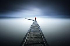 Floating directions (FredConcha) Tags: sea france landscape solitude alone bretagne ponto nikond800 fredconcha