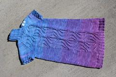 Snow Princess Tunic 1 (peridragon) Tags: knitting gradient ravelry gradiance snowprincesstunic