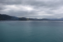 Sailing (Fionn Luk) Tags: ocean trip travel cruise vacation mountain water canon landscape ship view scene adventure explore 5d luk fionn allureoftheseas thefootprintdiary