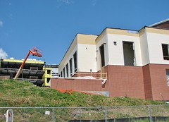 NEW CONSTRUCTION AT THE HIGH SCHOOL SO FAR (richie 59) Tags: city school urban usa ny newyork america fence buildings constructionarea outside us spring construction unitedstates weekend sunday highschool midtown kingston newyorkstate chainlinkfence constructionsite nys nystate hudsonvalley kingstonny steelwork newbuildings 2016 ulstercounty schoolbuildings smallcity schoolcampus midhudsonvalley americancity midhudson ulstercountyny uscity 2010s kingstonhighschool richie59 midtownkingstonny midtownkingston june2016 june122016 newschoolbuildings