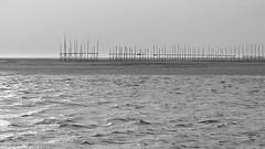 Wachten op hoogwater (Harm Weitering) Tags: abstract strand vlieland wadden zee eiland vast schip steiger golven zandbank vriendschap vliehors