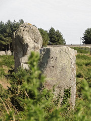 Le visage de carnac/the face of carnac (m-g-c photographie) Tags: old france nature strange face rock stone landscape roc photo brittany europe outdoor ngc bretagne breizh mgc curious paysage rocher visage roche ancien alignment carnac dehors alignement trange menhir curieux exterieur alignementdecarnac