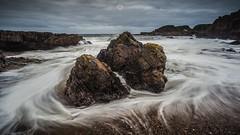 Ebb and Flow (Augmented Reality Images (Getty Contributor)) Tags: canon coastline harbour landscape leefilters longexposure portknockie rocks scotland sea seascape storm tide water waves
