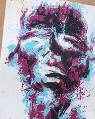 "(portrait) - unknown   #hoxton #shoreditch #oldstreet #painting #streetphotography #streetart #mural   #travel #worldcommuter #UK #modern #art (""guerrilla"" strategy) Tags: uk travel portrait streetart art modern painting mural streetphotography shoreditch hoxton unknown oldstreet   instagram ifttt worldcommuter"
